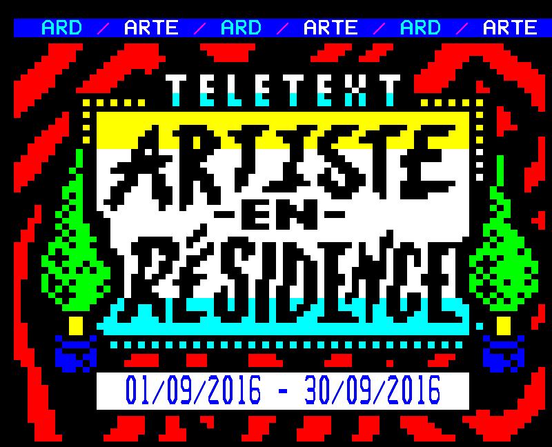 Artiste En Residence