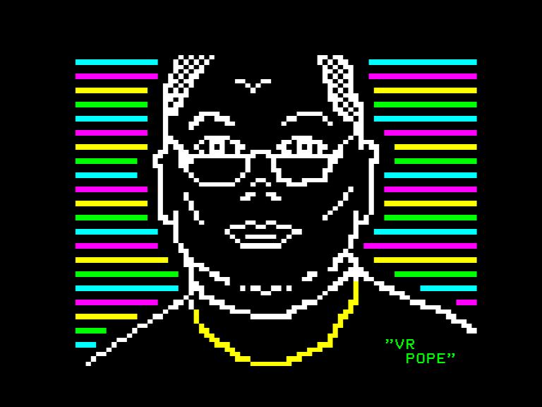'VR Pope' by Vesme
