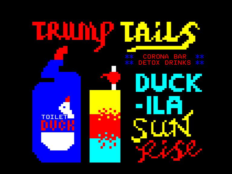 'Trump Tails' by Sam Meech