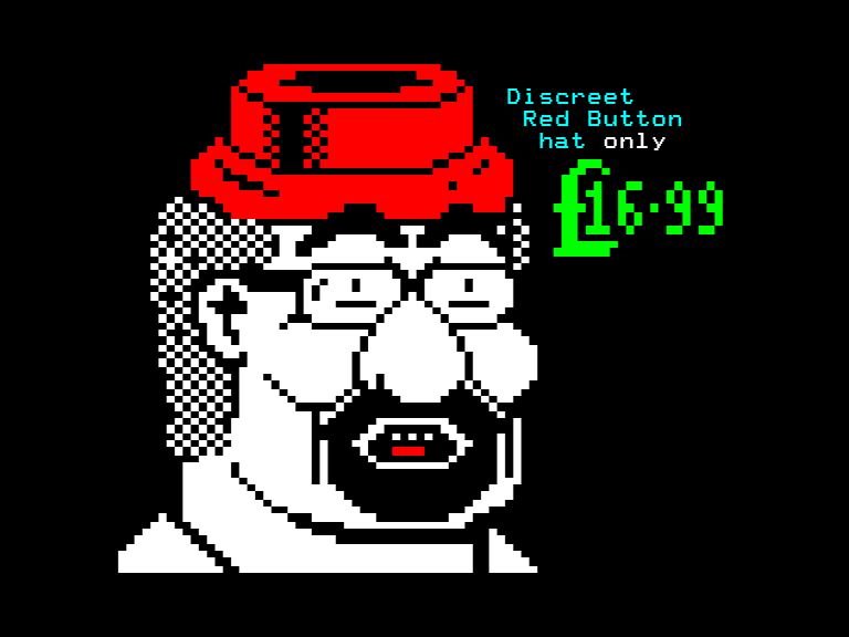 'Red Button Hat' by Dan Farrimond